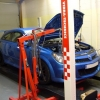 Checking the installed weight of an Astra VXR engine