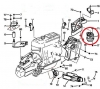 Rh Engine Mount  VibraTechnics Compliance Technology